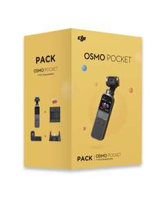 Pack DJI Osmo Pocket + Kit d'expansion (Retrait magasin uniquement)
