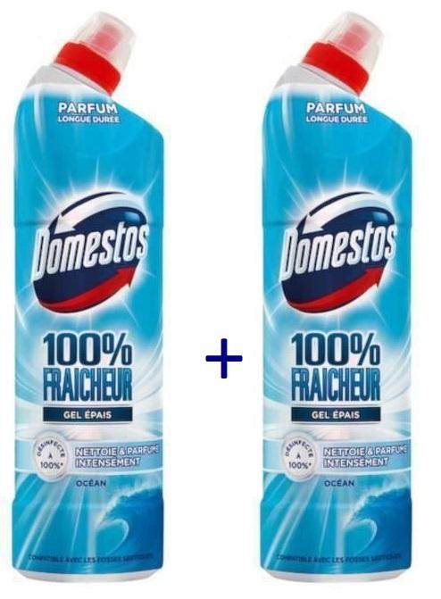 """Sélection de produits en promotion - Ex: 2 Gels Nettoyant WC """"Domestos"""" - Différentes Variétés (via BDR ou ODR)"""