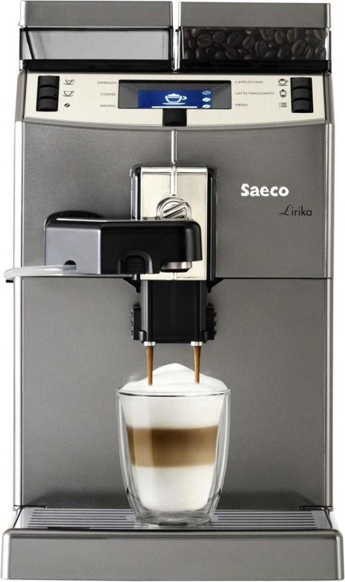Machine à café automatique avec buse vapeur Saeco Lirika OTC Titan RI9851/01
