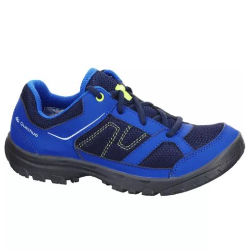 Chaussures de randonnée enfant Quechua MH100 JR - Bleu en 36 et 37