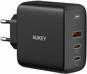 Chargeur Aukey Omnia PA-B6S GaN (90W) - 2x Type-C Power Delivery 3.0 + 1x USB-A, GaNFast (Vendeur tiers)