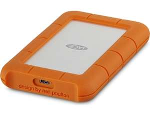 "Disque dur externe 2.5"" LaCie Rugged USB-C 3.1 - 5 To (frontaliers Suisse)"
