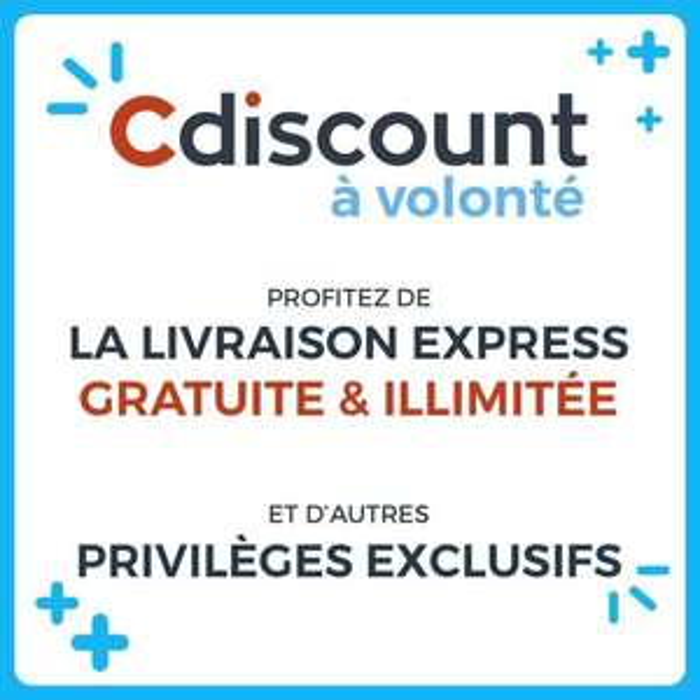 Abonnement d'un an au service de livraison Cdiscount à Volonté (CDÀV)