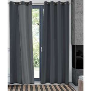 Rideau occultant thermique en polyester - Taipe, 140 x 250 cm