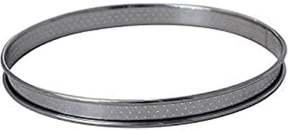 Cercle à tarte inox perforé De Buyer 3093.10 - 10cm
