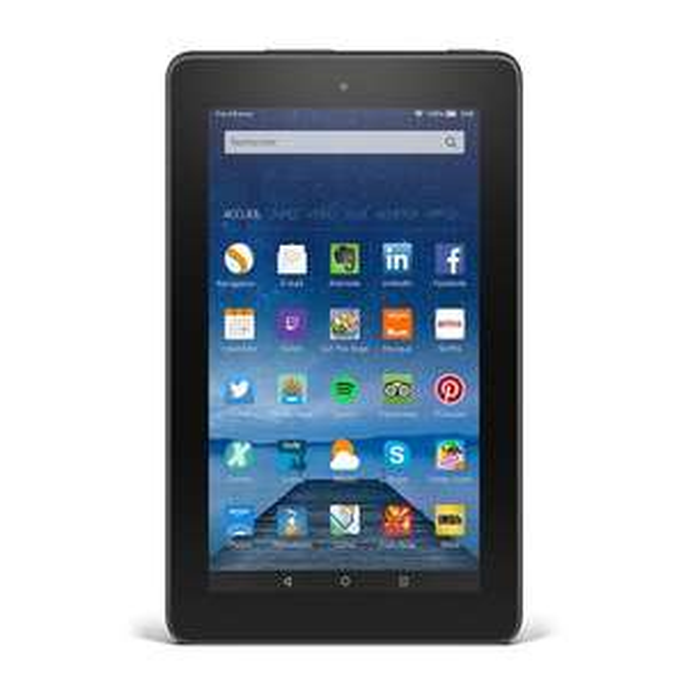 """Tablette 7"""" Amazon Fire - IPS 1024x800, Quadricœur 1.3 GHz, RAM 1Go, 8 Go, Android 5 Bellini (via offre spéciale)"""
