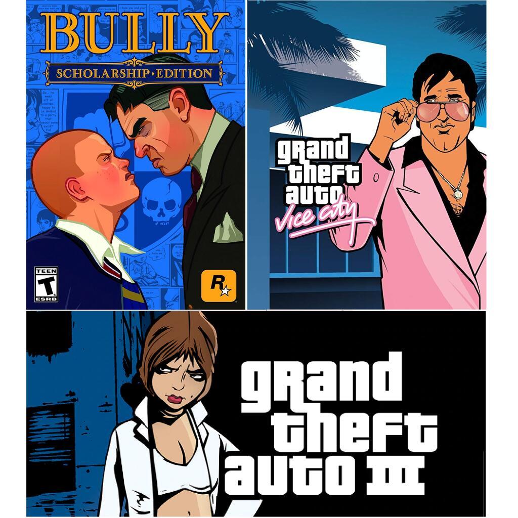 Sélection de jeux PC en promotion - Ex : Bully - Scholarship Edition, GTA III ou GTA Vice City (Dématérialisé, Rockstar Game Launcher)