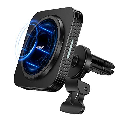 Support auto / chargeur sans-fil à induction ESR HaloLock - 7.5 W, noir (vendeur tiers)