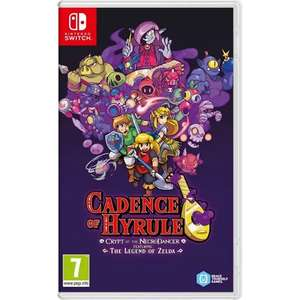 Jeu Switch Cadence of Hyrule Crypt of the Necrodancer - Featuring the legend of Zelda (Houdemont 54)