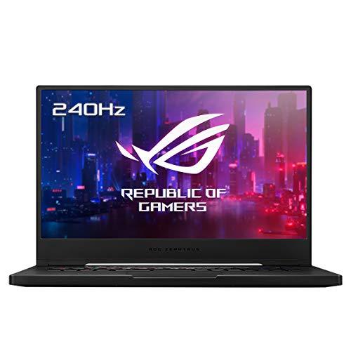 """PC portable 15.6"""" Asus ROG Zephyrus M15 GU502LW-AZ056T - FHD 240Hz, Intel Core i7-10750H, 32 Go de RAM, SSD 1 To, RTX2070, Win 10, QWERTY"""