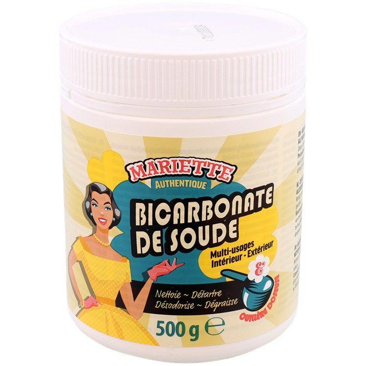 Pot de bicarbonate de soude de nettoyage en poudre Mariette - 500 g