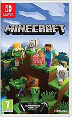 Jeu Minecraft sur Nintendo Switch