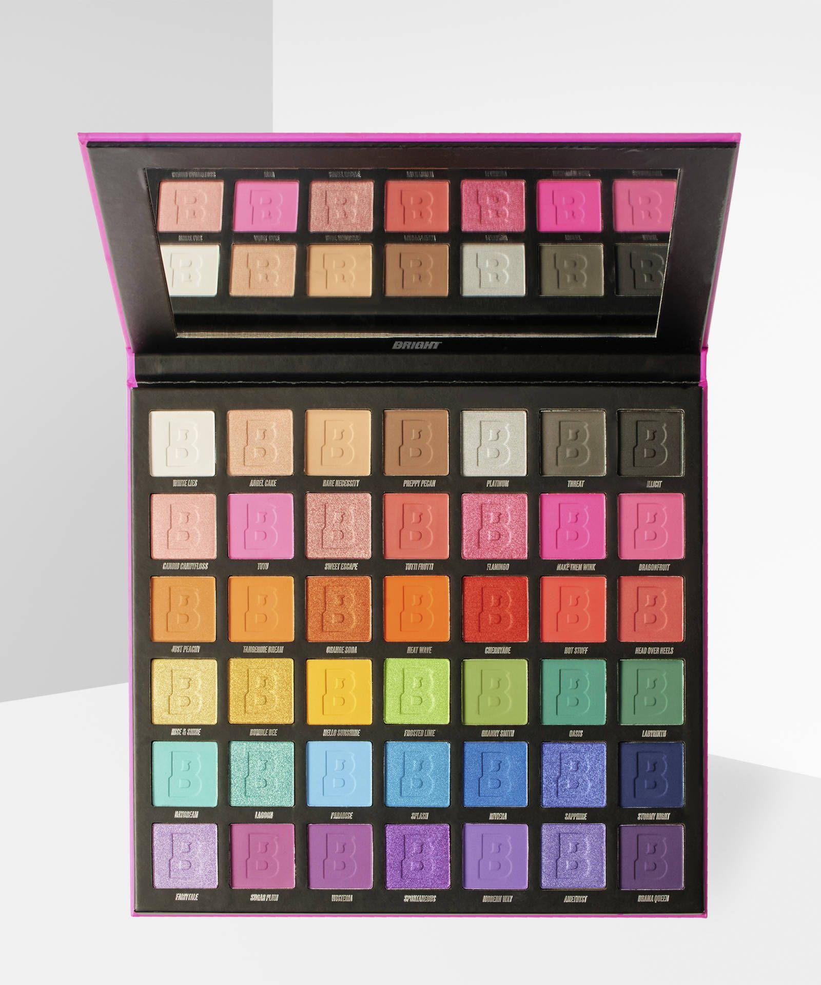 Palette de maquillage Bright - 42 couleurs (beautybay.com)