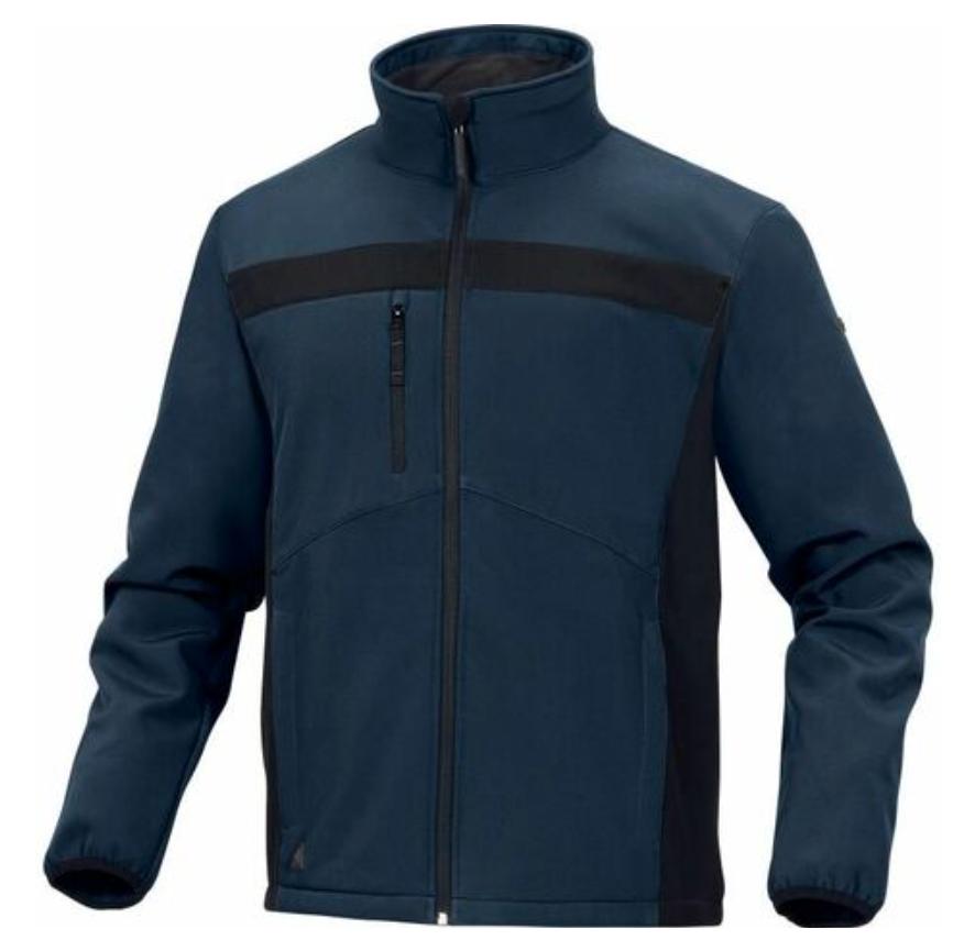 Veste homme Delta plus LULE2BM0 - Taille vêtement - 46/48 (XL) - Noir/Bleu