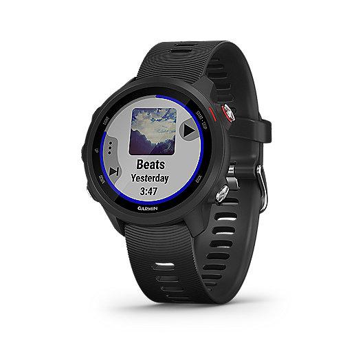 Montre GPS Garmin 245 music - Noir
