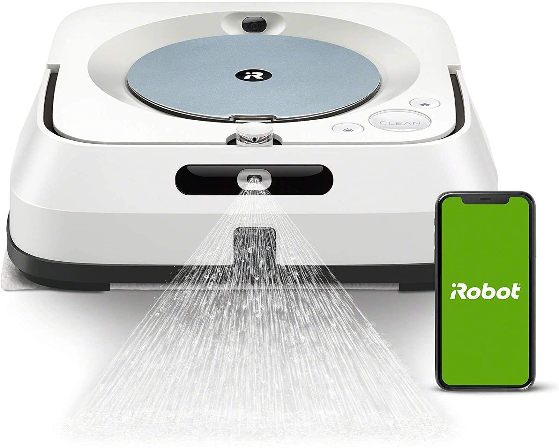 Robot Laveur sols Braava jet M6