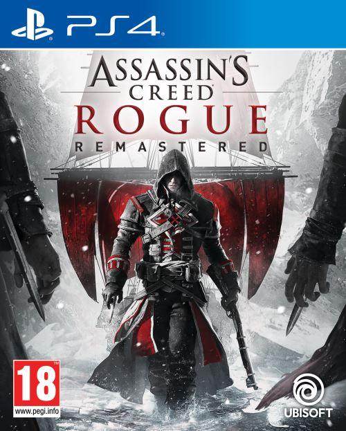 Jeu Assassin's Creed Rogue Remastered sur PS4 + Porte-clé Les Lapins Crétins