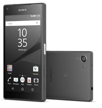 """Smartphone 4,6"""" Sony Xperia Z5 Compact 32 Go Noir + Jusqu'à 73.18€ crédités en super points"""