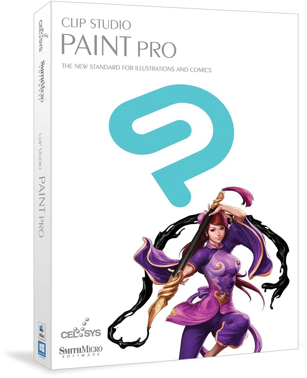 50% de reduction sur les produits ClipStudio - Ex : ClipStudio Paint Pro sur PC/Mac (Dématérialisé - clipstudio.net)