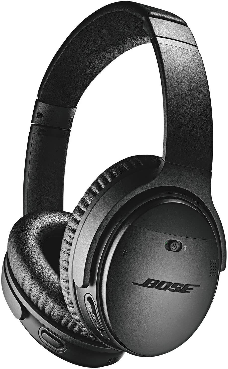 Casque audio sans-fil Bose QuietComfort 35 II Wireless (noir) - d'occasion (+ 4.77€ en Rakuten Points)