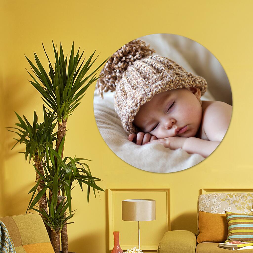 Sélection de Photos sur Cadre Cercle en promotion à partir de 12,58€ + Livraison gratuite - 4 dimensions (30x30 cm jusqu'à 60x60 cm)