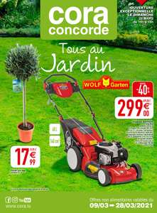Tondeuse thermique Wolf Garten 46 BAV (Frontaliers Luxembourg)