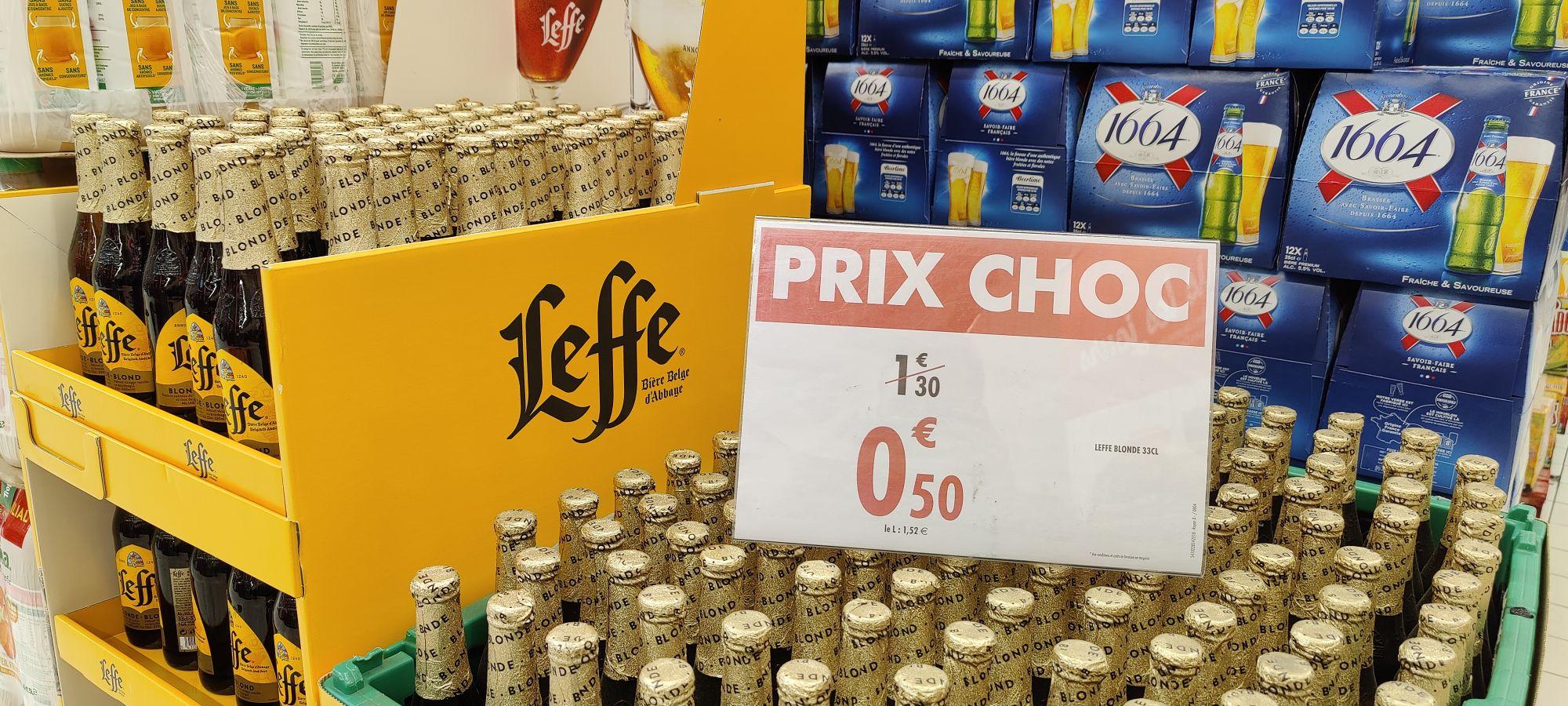 Bouteille de bière Leffe (33cl) - Meylan (38)