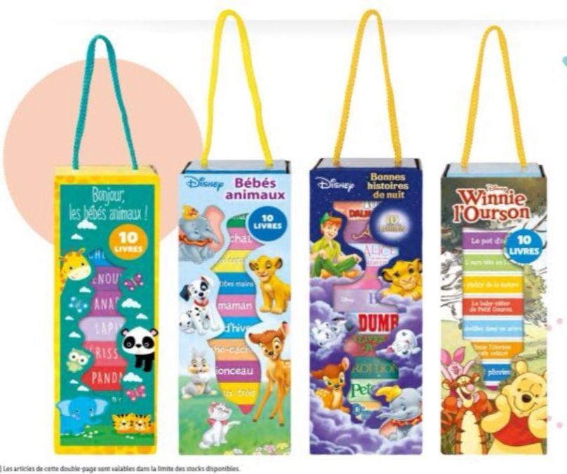 Lot de 10 livres Disney ou histoires pour enfant