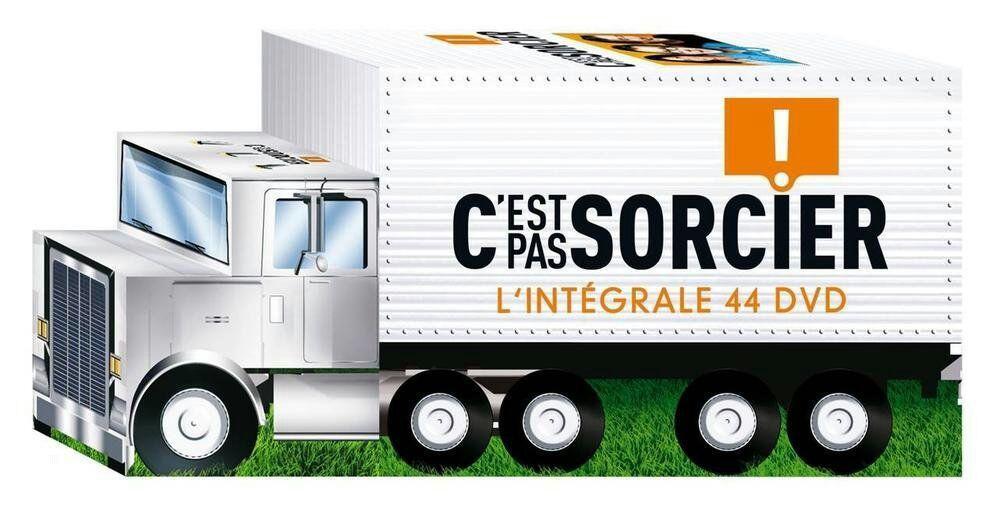 Coffret intégrale c'est pas sorcier : 44 DVD édition camion 2013