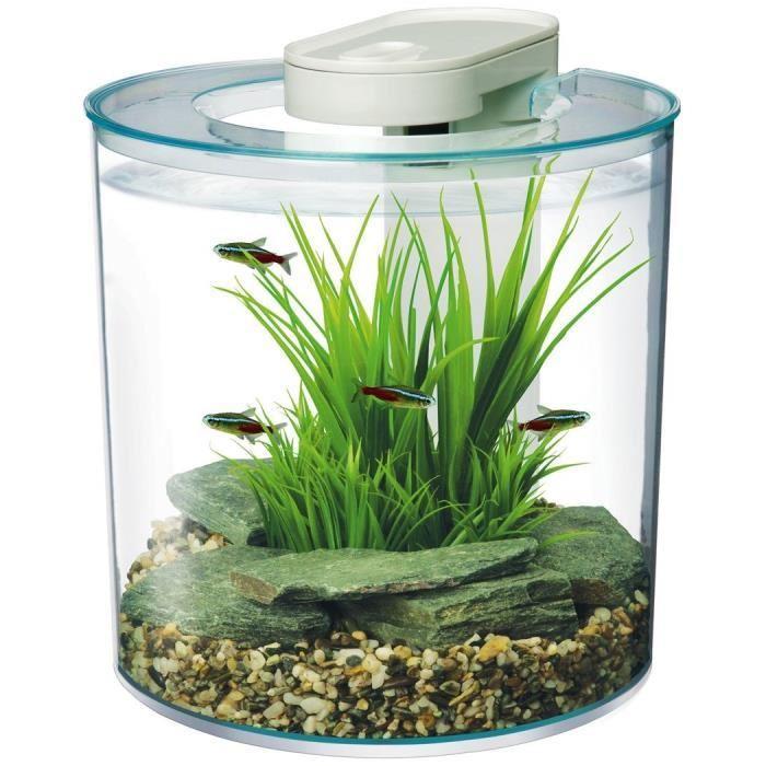 Aquarium équipé pour crevettes / combattant 10l Marina 360