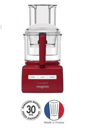 Robot de cuisine Magimix CS 5200 XL - 1100 W, rouge