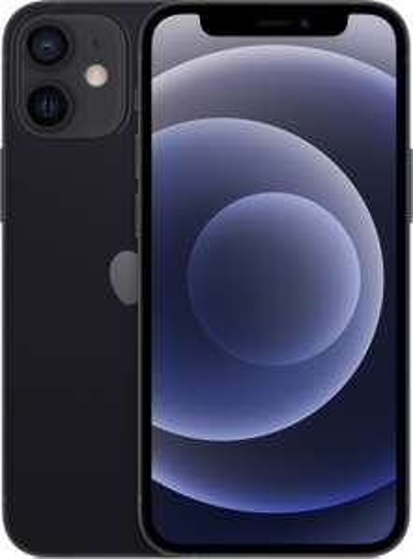"Smartphone 5.4"" Apple iPhone 12 mini 5G (full HD+ Retina, A14, 4 Go de RAM, 64 Go, différents coloris) - reconditionné"