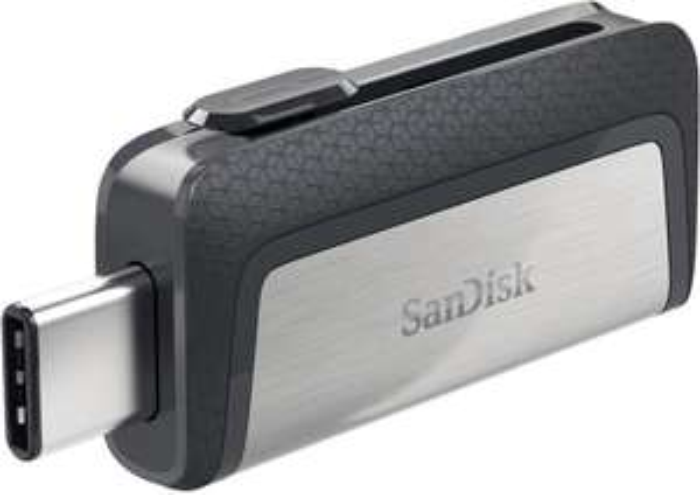 Clé USB 3.1 / USB type-C SanDisk Ultra Dual Drive SDDDC2-128G-G46 - 128 Go