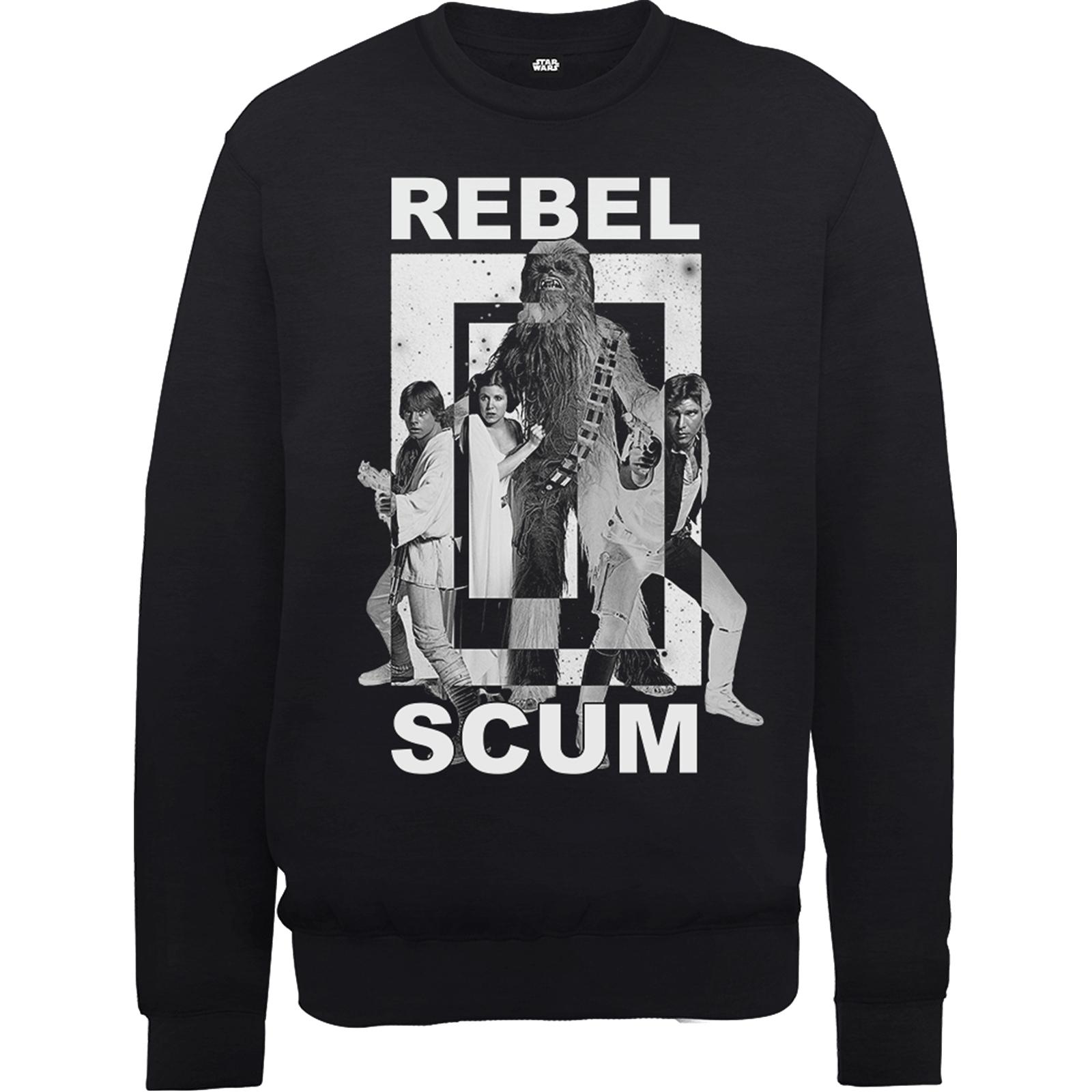 Sélection de Sweatshirts Star Wars en promotion - Ex: Sweat Homme Rebel Scum