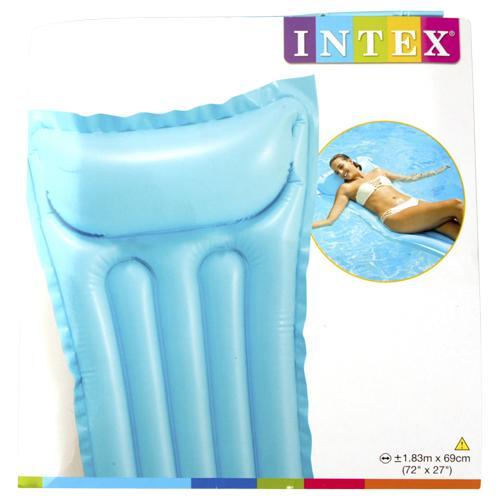 Matelas gonflable pour piscine et plage (plusieurs coloris)