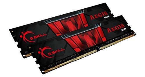 Kit mémoire DDR4 G.Skill Aegis F4-3200C16D-16GIS 16 Go (2 x 8 Go) - 3200 MHz, CL16