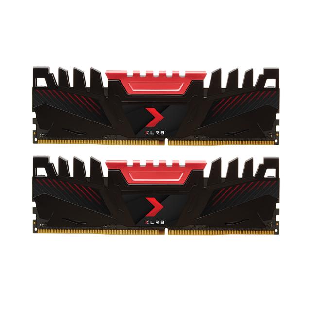 Kit Mémoire DDR4 PNY XLR8 16 Go (2 x 8 Go) - 3200 MHz, CL16