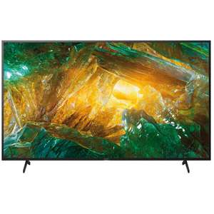 """TV 75"""" Sony KD-75XH8096 - 4K UHD, HDR10, Dolby Vision & Atmos, Smart TV (Frontaliers Suisse)"""