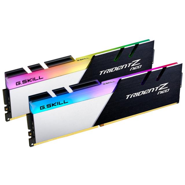 Kit mémoire Ram DDR4 G.skill trident z neo 16 Go (2x8 Go) - 3600mhz, cl16