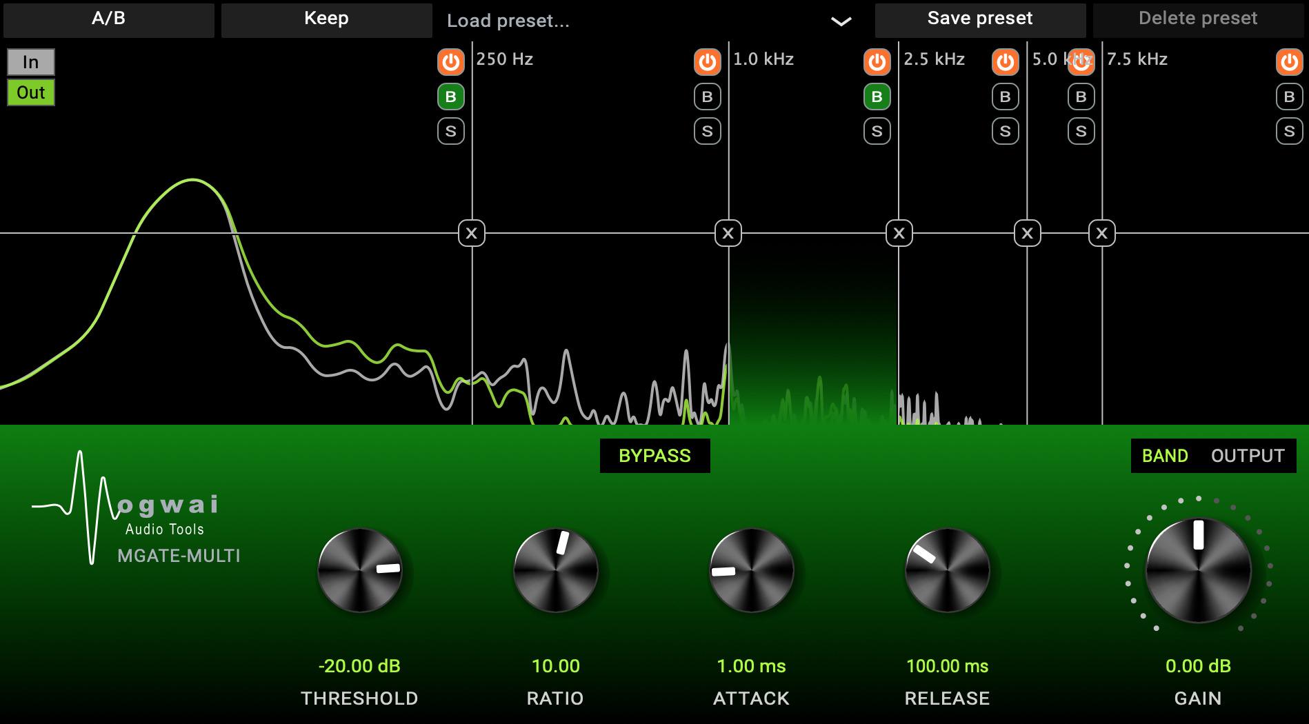 Plugin MGate Multi gratuit sur PC & Mac (Dématérialisé - VST3/AU & AAX)