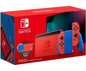 Console Nintendo Switch - Édition Limitée Mario + Pochette de Transport (Frontaliers Suisse)