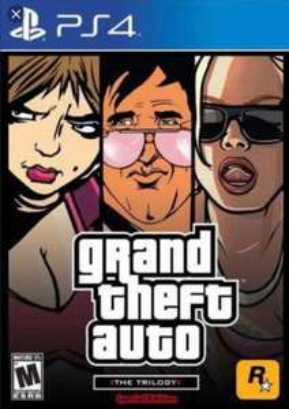 Grand Theft Auto: The Trilogy sur PS4 (Dématérialisé)