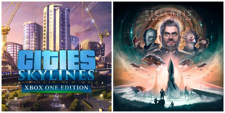 [Gold] Cities: Skylines & Stellaris: Console Edition jouables gratuitement sur Xbox One & Series X/S (Dématérialisé)