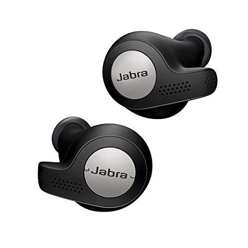 Écouteurs Sport intra-auriculaires sans-fil Jabra Elite Active 65t - Noir Titane