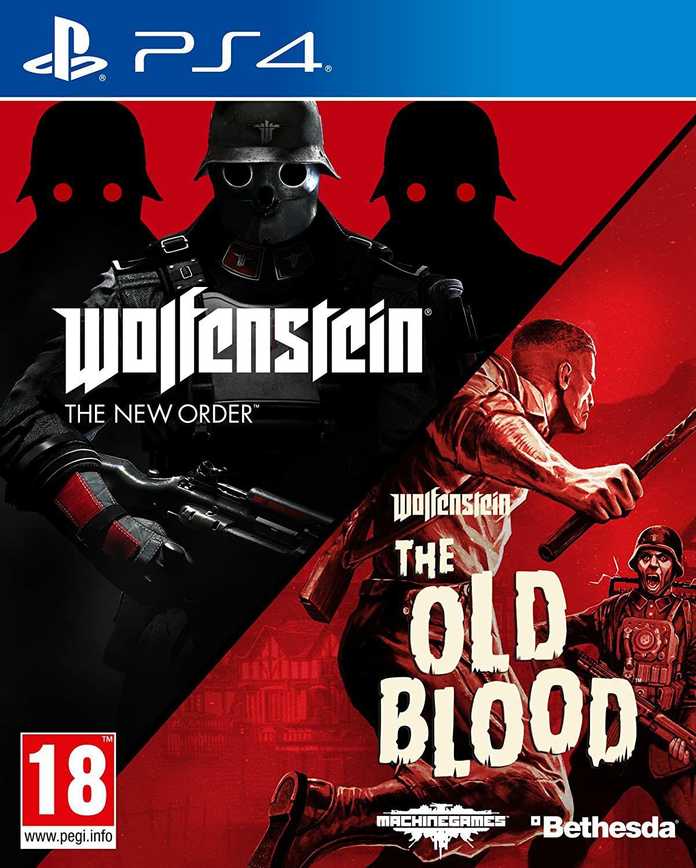 Wolfenstein The New Order + Wolfenstein The Old Blood sur PS4