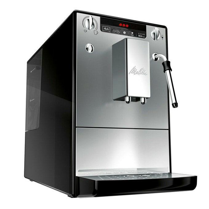 Machine à Café et Boissons Chaudes Automatique Melitta E953-102 - Silver
