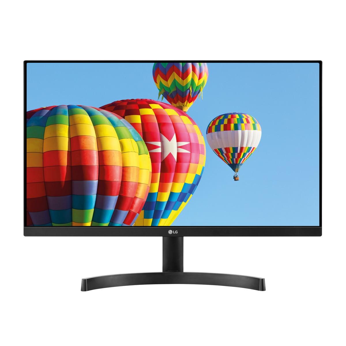 "Écran PC 24"" LG MK-600MB - Full HD, Dalle IPS, 75 Hz, AMD FreeSync, Noir"