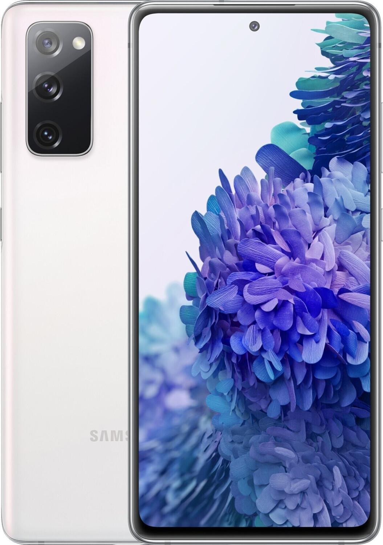 """Smartphone 6.5"""" Samsung Galaxy S20 FE - full HD+, Exynos 990, 6 Go de RAM, 128 Go, blanc"""