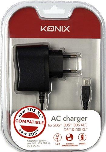 Sélection de produits en promotion - Ex: Chargeur Secteur Konix pour Nintendo 2DS/3DS/3DS XL/DSi/DSi XL/new 3DS/new 3DS XL