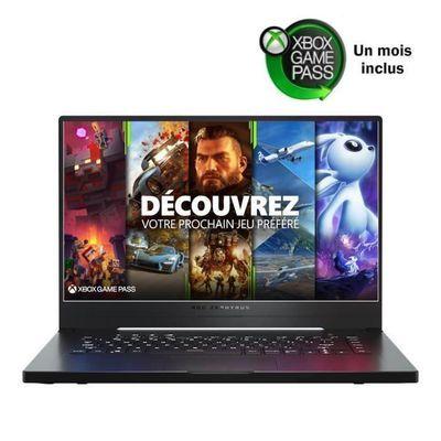 """PC Portable 15.6"""" Asus Zephyrus G15-GA502IV-062 - FHD 144 Hz, Ryzen 9 4900HS, 16 Go RAM, RTX 2060 6Go Max Q, SSD 512 Go, sans OS"""